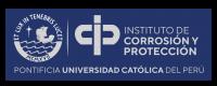 LOGO NUEVO DE PUCP CON CIP CORROSION FONDO AZUL-01